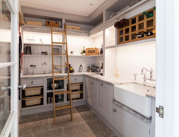 pantry created by MPG Kitchens